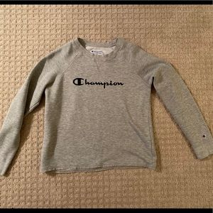 Grey small Champion sweatshirt